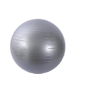 フロストテクスチャプロヨガボールアンチバースト肥厚バランストレーニング(GRAY)