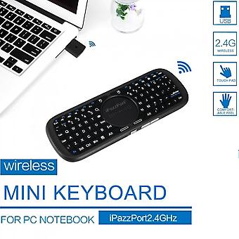 2.4g Mini Wireless Keyboard For Pc Android Smart Tv Box With Led Light