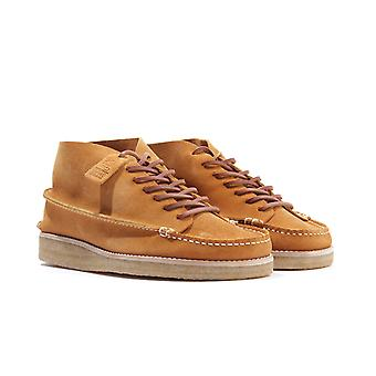 Yogi Footwear x Hikerdelic Derek Suede Chukka Boots - Tumeric
