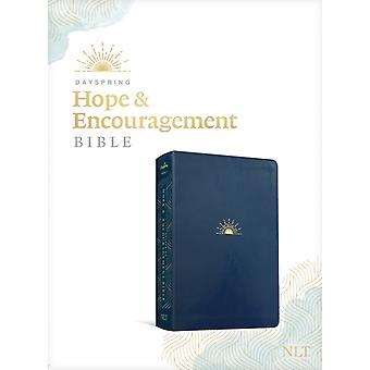 NLT DaySpring Hope amp Encouragement Bible Navy by Created by DaySpring