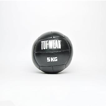 Tuf Wear Läder Medicin Ball 5KG Svart