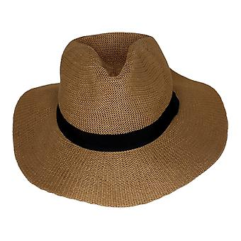 Carlos by Carlos Santana Women's Hat Polyester Brown 742842