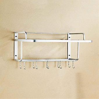 Aluminium magnetron oven rack muur mount magnetron keuken desktop organisator rekken ovenstandaard