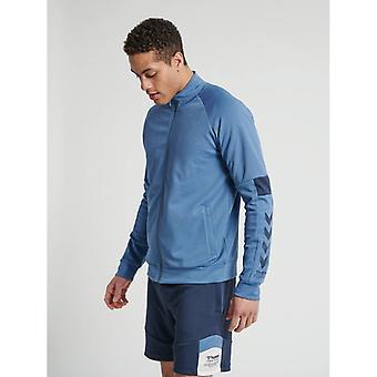 Hummel  alec zip track jacket - china blue