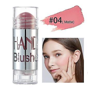 Blushes bronzers 1pcs chubby cream blush stick blusher highlight contour cosmetics moisturizer long