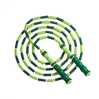 Jump ropes homemiyn soft beaded jump rope  adjustable tangle-free segmented fitness skipping rope for men