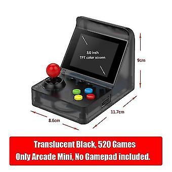 Newzuidid retro arkáda mini 32bit 520 her kapesní herní konzole přenosný retro videoherní přehrávač
