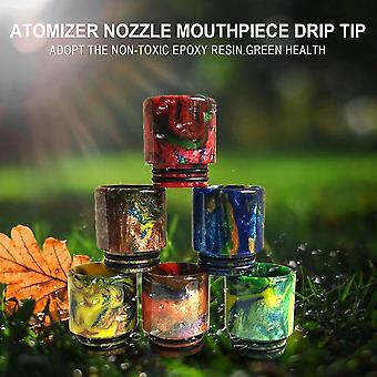 510 Drip Tip Adapter Epoxy Resin Mouthpiece For Smok Tfv8 Atomizer Nozzle