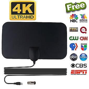50 מייל טווח טלוויזיה אווירית קבלת Freeview דיגיטלי HD Skylink אנטנת HDTV דיגיטלית מקורה 4k 1080p