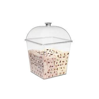 Anzeige-Kästchen mit Deckel PC Ideal für die Lagerung von Snacks, Küche Esszimmer
