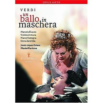 G. Verdi - Un Ballo in Maschera [DVD] USA import