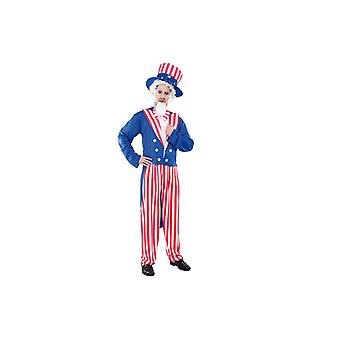 America costume Uncle Sam USA suit costume mens Gr. L