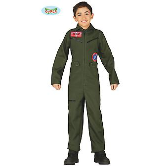 Aviator Flieger Pilot Kampfflieger Kostüm Kinder