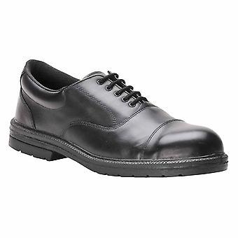 بورتويست مينس ستيليت التنفيذي أكسفورد ملابس العمل سلامة الأحذية S1P