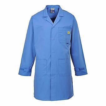 بورتويست مينس بورتويست ملابس العمل - المضادة للساكنة معطف مختبر التفريغ الكهربائي