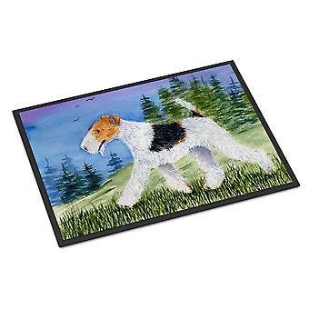Carolines Treasures  SS8599JMAT Fox Terrier Indoor or Outdoor Mat 24x36 Doormat