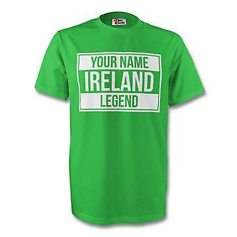 Ihr Name Irland Legende Tee (grün) - Kids