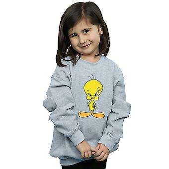 Looney Tunes Girls Angry Tweety Sweatshirt