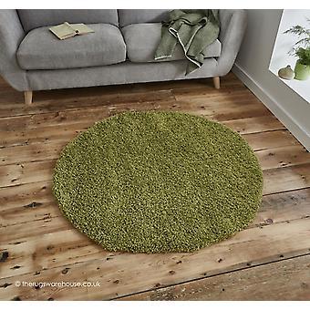 Vista Green Circle Rug
