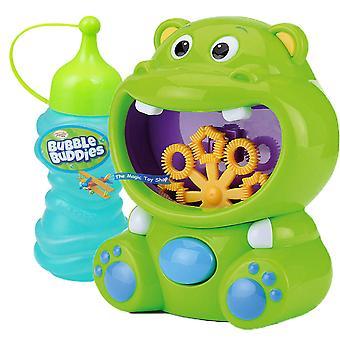 Toyrific Bubble Machine Hippo