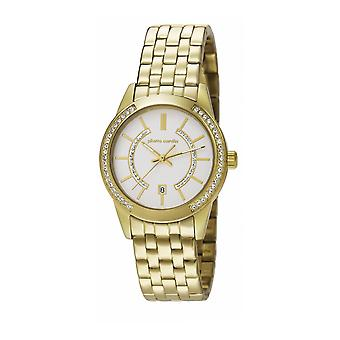 Pierre Cardin Damen Uhr Armbanduhr TROCA LADY gold PC106582F07