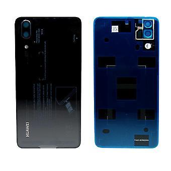 Huawei batteria coperchio coperchio batteria coperchio nero per P20 / dual / 02351WKV riparazione nuovo