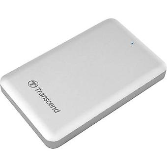 Transcend StoreJet SJM500 2,5 externe Apple Mac SSD Festplatte Laufwerk 1 TB Silber USB 3.0, Thunderbolt