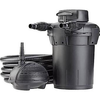 Pontec 57147 tryck filter inkl UVC dammen Hårblekningsmedel 2500 l/h