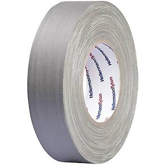 HellermannTyton HTAPE-TEX-GY-19x50 712-00506 Cloth tape HelaTape Tex Grey (L x W) 50 m x 19 mm 1 pc(s)