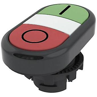Pizzato Elettrica E21PDRL1AAAD Double head pushbutton Planar Green, Red 1 pc(s)