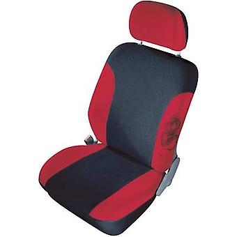 cartrend 79-5320-02 Mystery Seat covers 11-piece Polyester Red Drivers seat, Passenger seat, Back seat