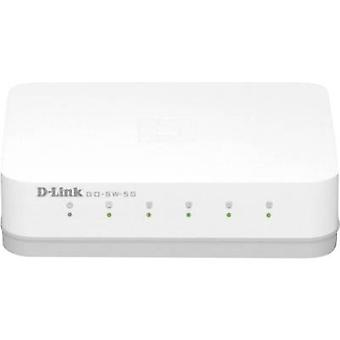 D-Link GO-SW-5G Network switch 5 ports 1 Gbps