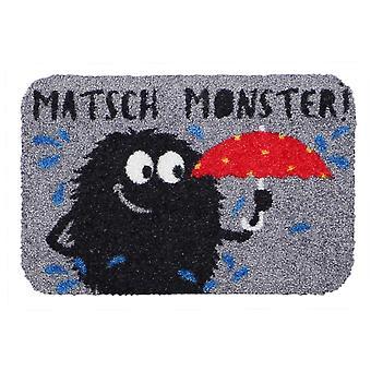 Salon lion boue mat mini Monster drôle petit paillasson chaussure rangement