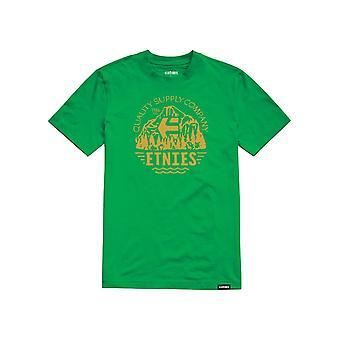 Etnies Yosemite manga curta T-shirt em Kelly Green