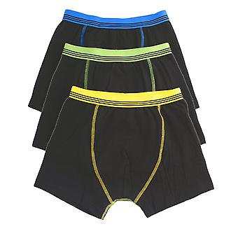 Boys Tom Franks Kids Cotton Stretch Boxer Trunk underwear 6 Pack