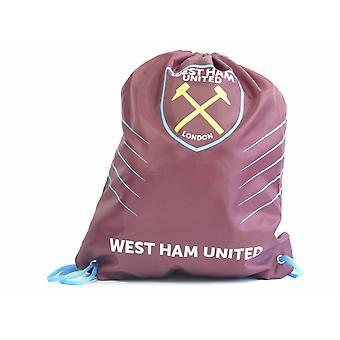West Ham United FC Spike Draw String Gym Bag