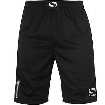 Sondico Mens Goalkeeper Shorts Pants Padding The Upper Thighs Elastic Waistband