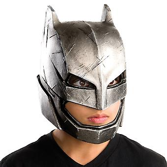 Armored Batman v Superman Dawn of Justice Superhero Boys Costume 3/4 Vinyl Mask