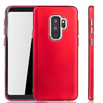Samsung Galaxy S9 plus -mobiele telefoon case voor Samsung Galaxy S9 plus - mobiele geval in het rood