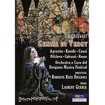 G. Donizetti - Donizetti: Gemma Di Vergy [DVD] USA import