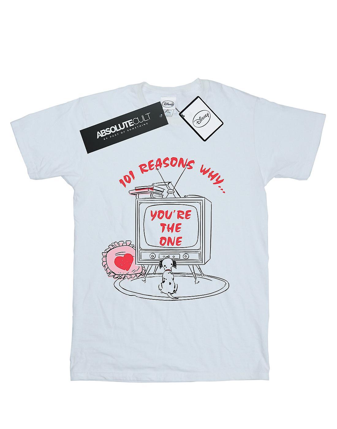Disney Women's 101 Dalmatians TV Boyfriend Fit T-Shirt