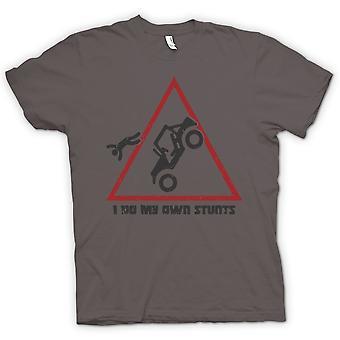 Мужская футболка - я сделать мои собственные трюки - Offroad 4WD