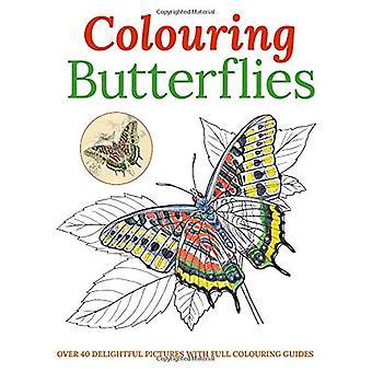 Färga fjärilar (målarböcker)