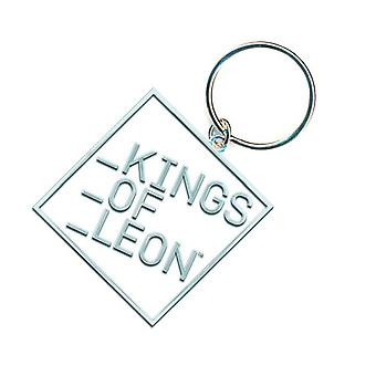 Kings Of Leon Keyring Keychain Block band Logo new Official metal