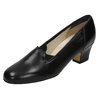 Ladies Nil Simile Leather Court Shoes Bliss