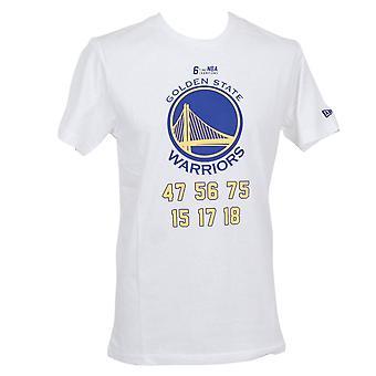 Neue Ära NBA-Team Champion T-Shirt ~ Golden State Warriors