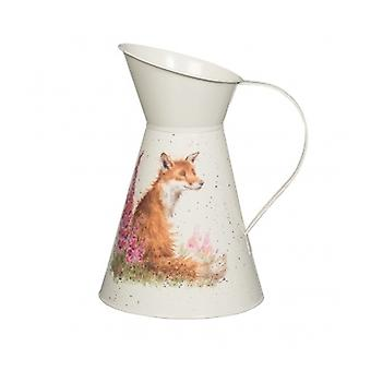 Wrendale Designs Illustrated Fox Flower Jug
