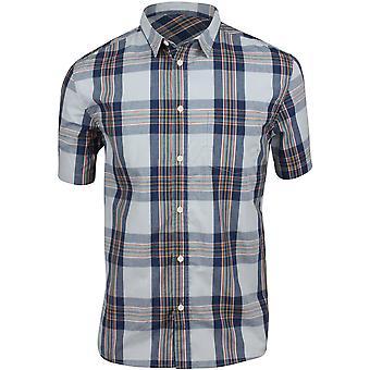 Quiksilver Herren Gezeiten Ridge SS Taste Up Shirt - Mikrochip Ridge Top
