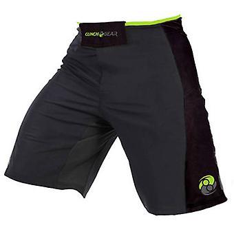 Omfavne utstyr Mens signatur MMA bryting fordel Shorts - grå/svart/Lime