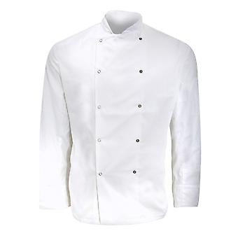 Dennys Mens Long Sleeve Chefs Jacket / Chefswear (Pack of 2)